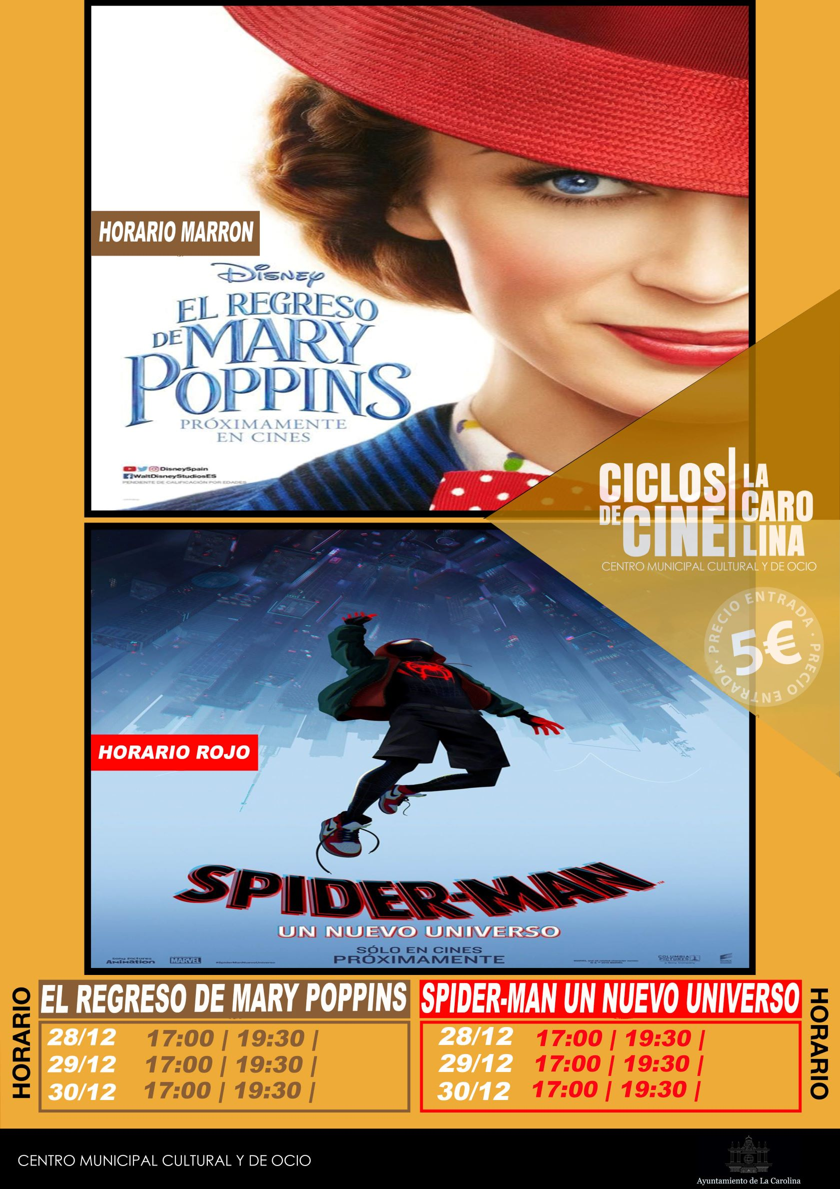 2018-12-28 CARTEL SPIDERMAN - MARY POPPINS