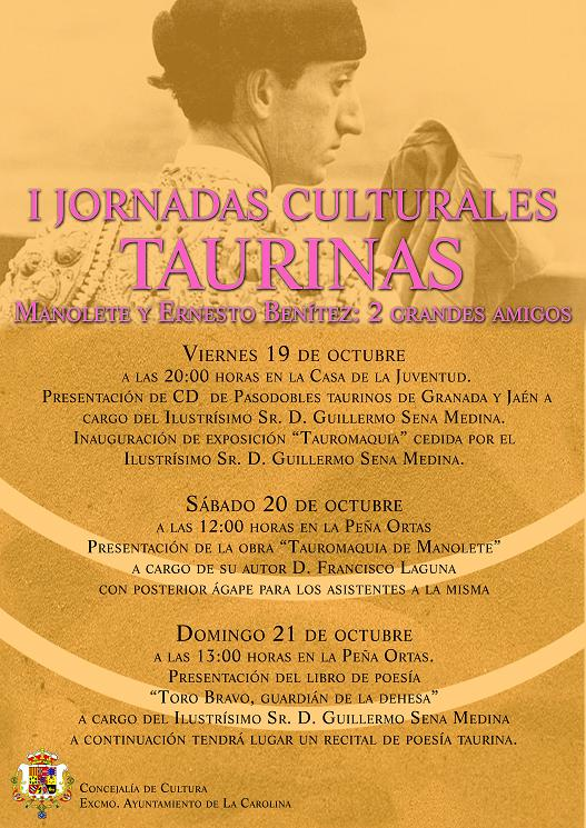 cartel jornadas taurinas copia